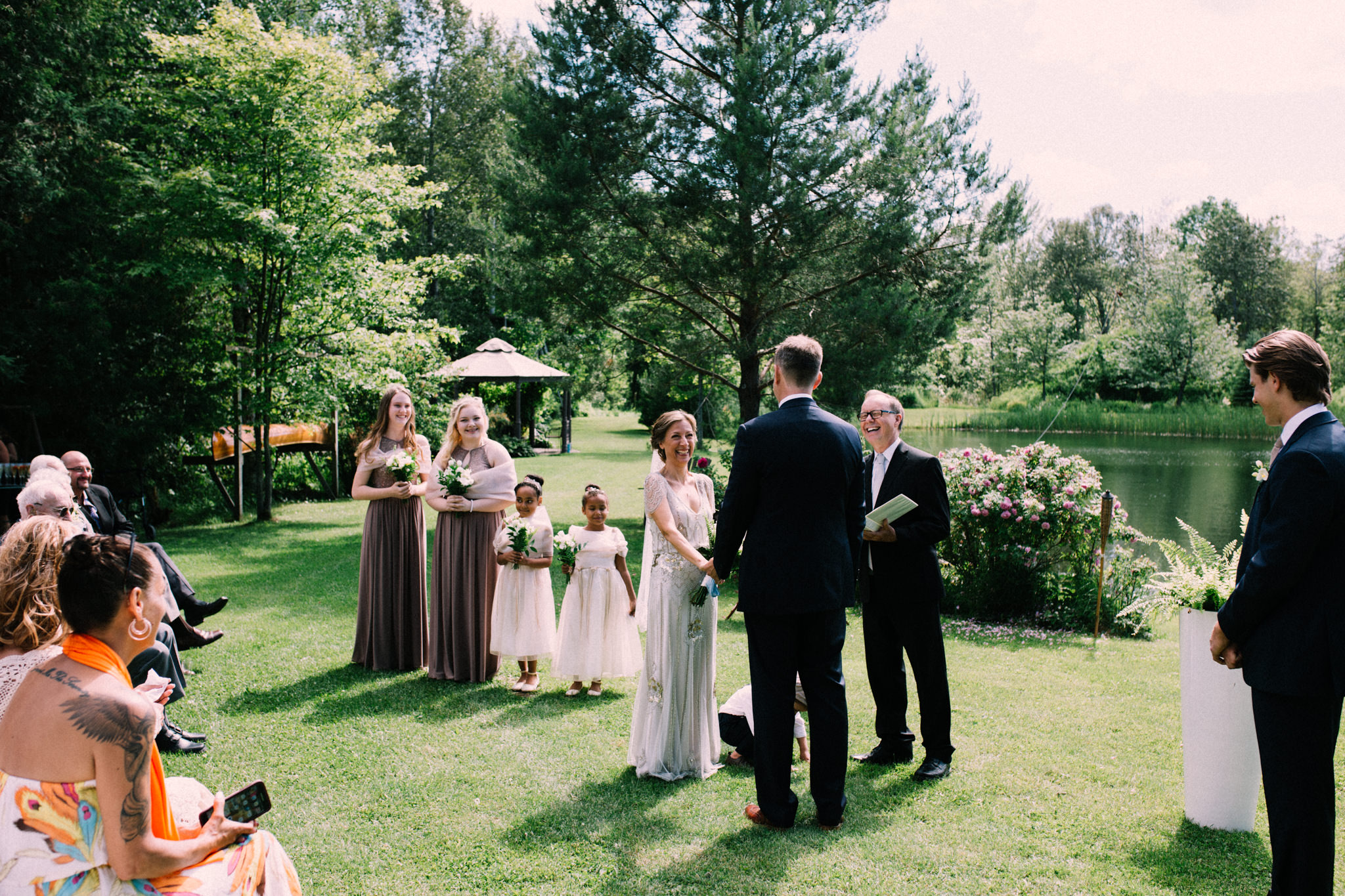 Orillia intimate summer wedding at Ficklewood Farm by Max Wong Photo (22)