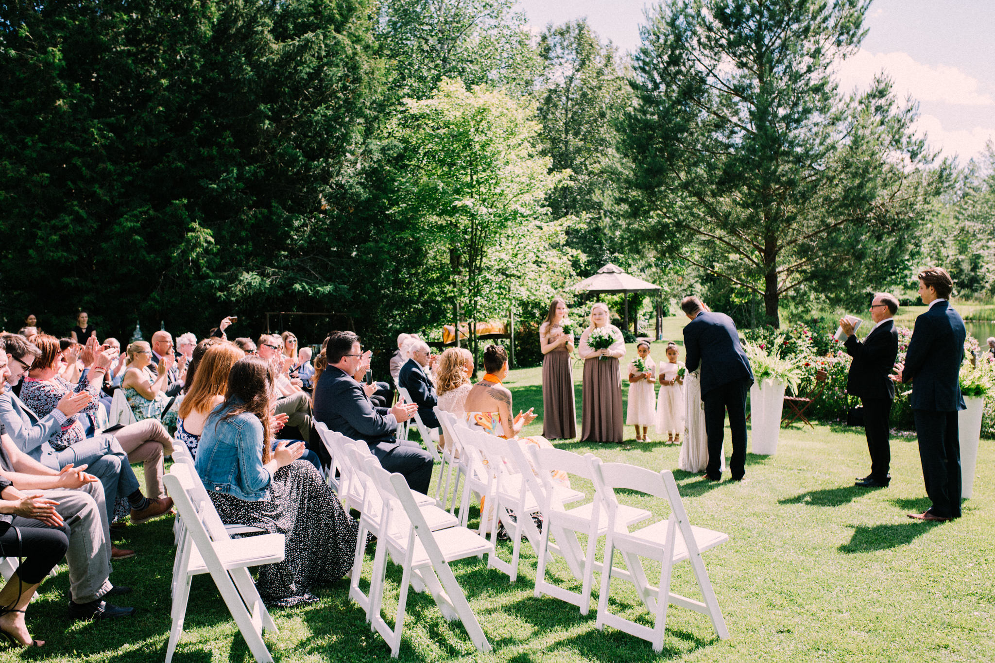 Orillia intimate summer wedding at Ficklewood Farm by Max Wong Photo (27)