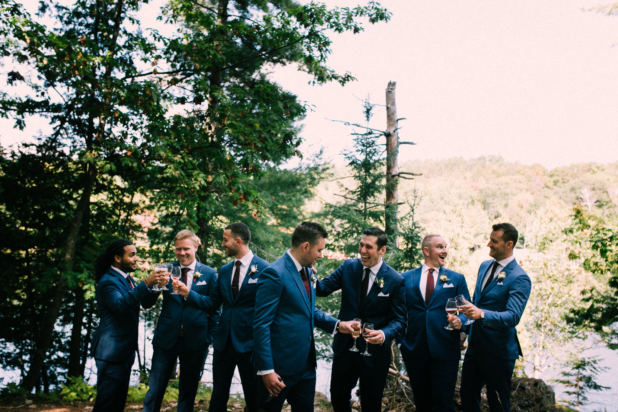 Muskoka lakeside wedding at Port Cunnington Lodge by Max Wong Photo (31)