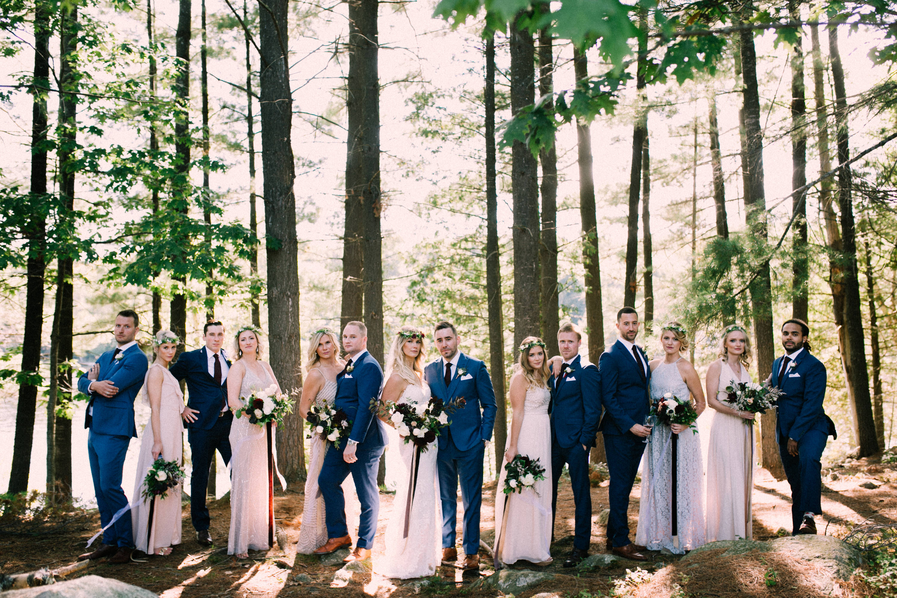 Muskoka lakeside wedding at Port Cunnington Lodge by Max Wong Photo (32)