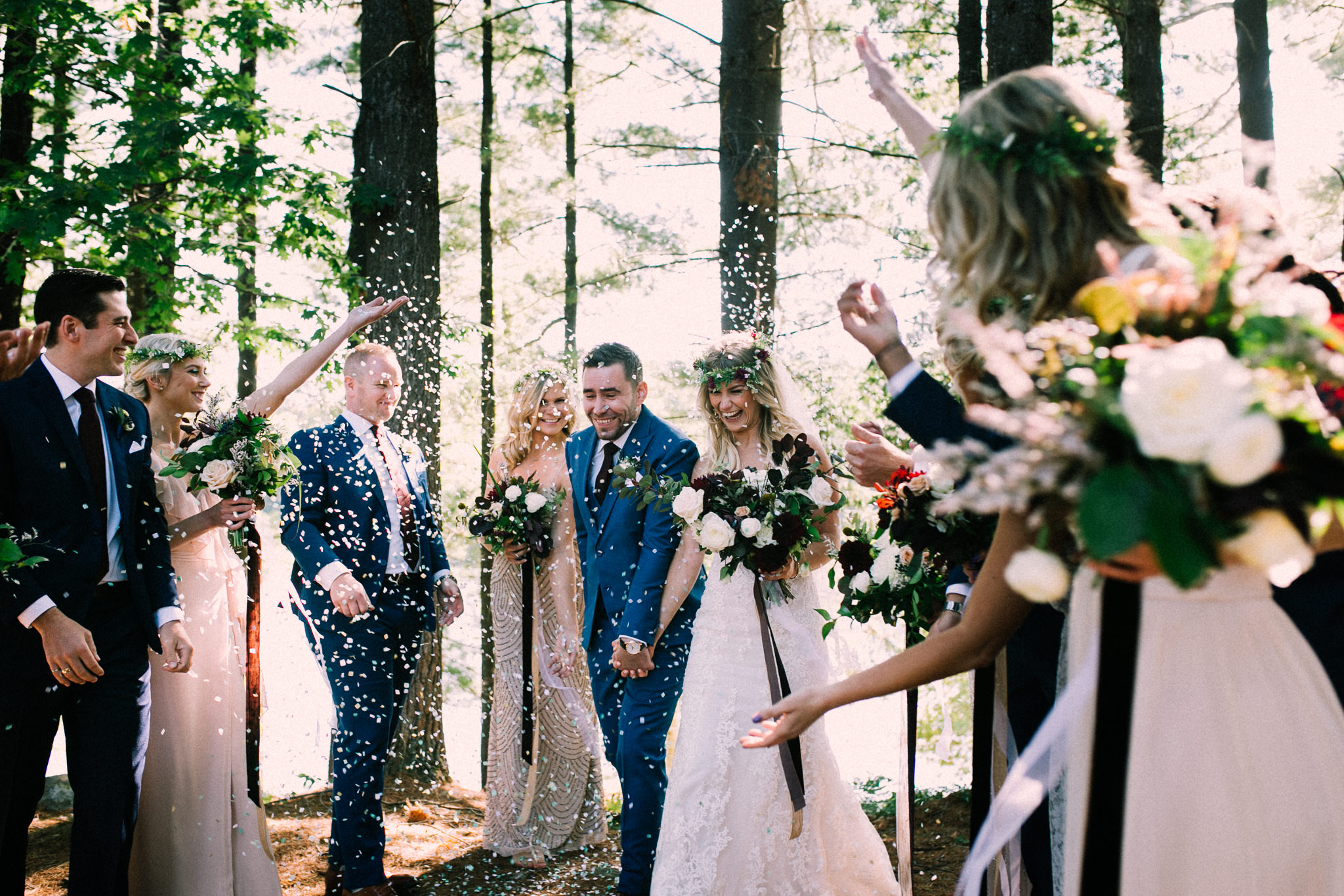 Muskoka lakeside wedding at Port Cunnington Lodge by Max Wong Photo (38)