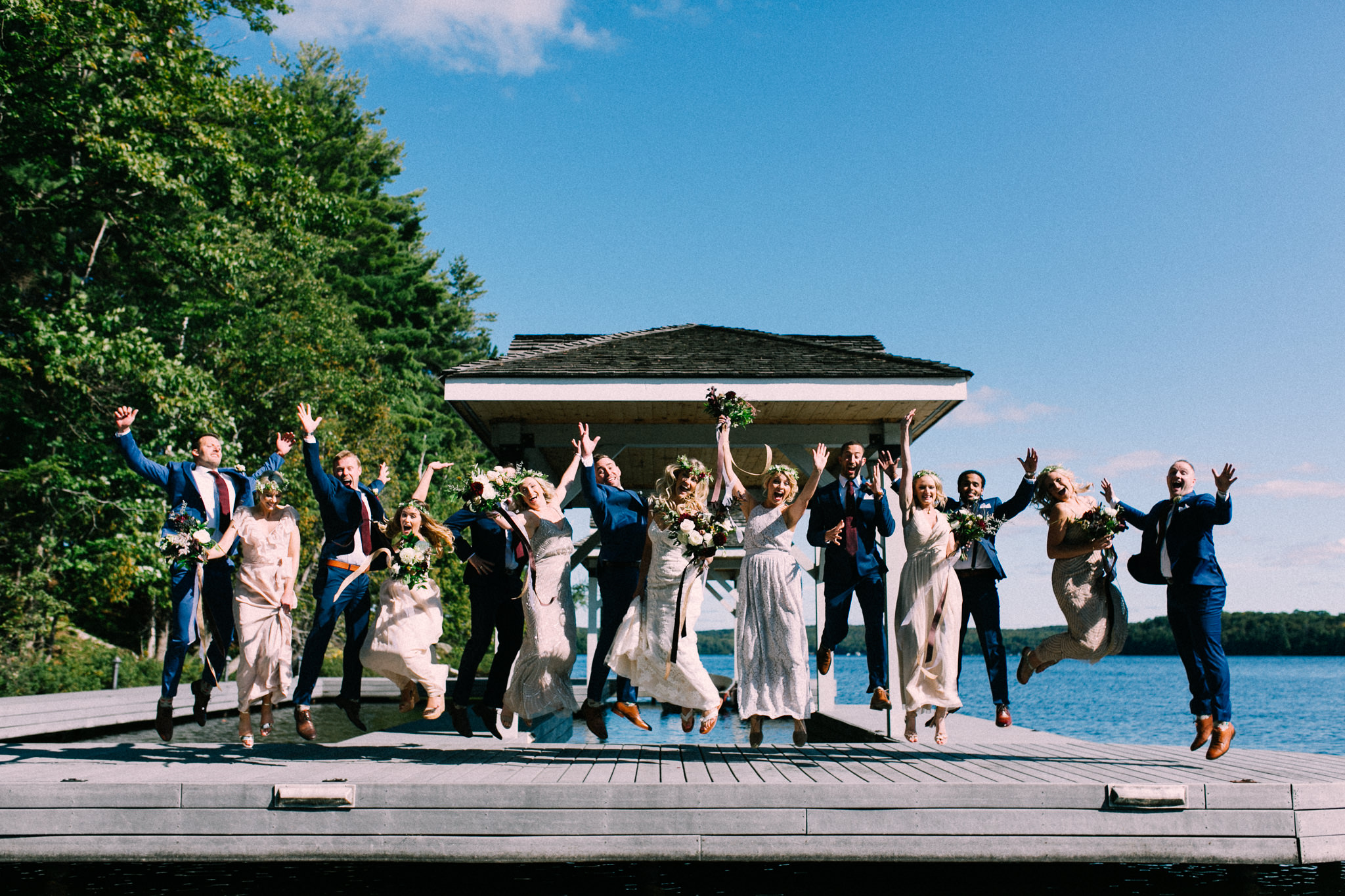 Muskoka lakeside wedding at Port Cunnington Lodge by Max Wong Photo (41)