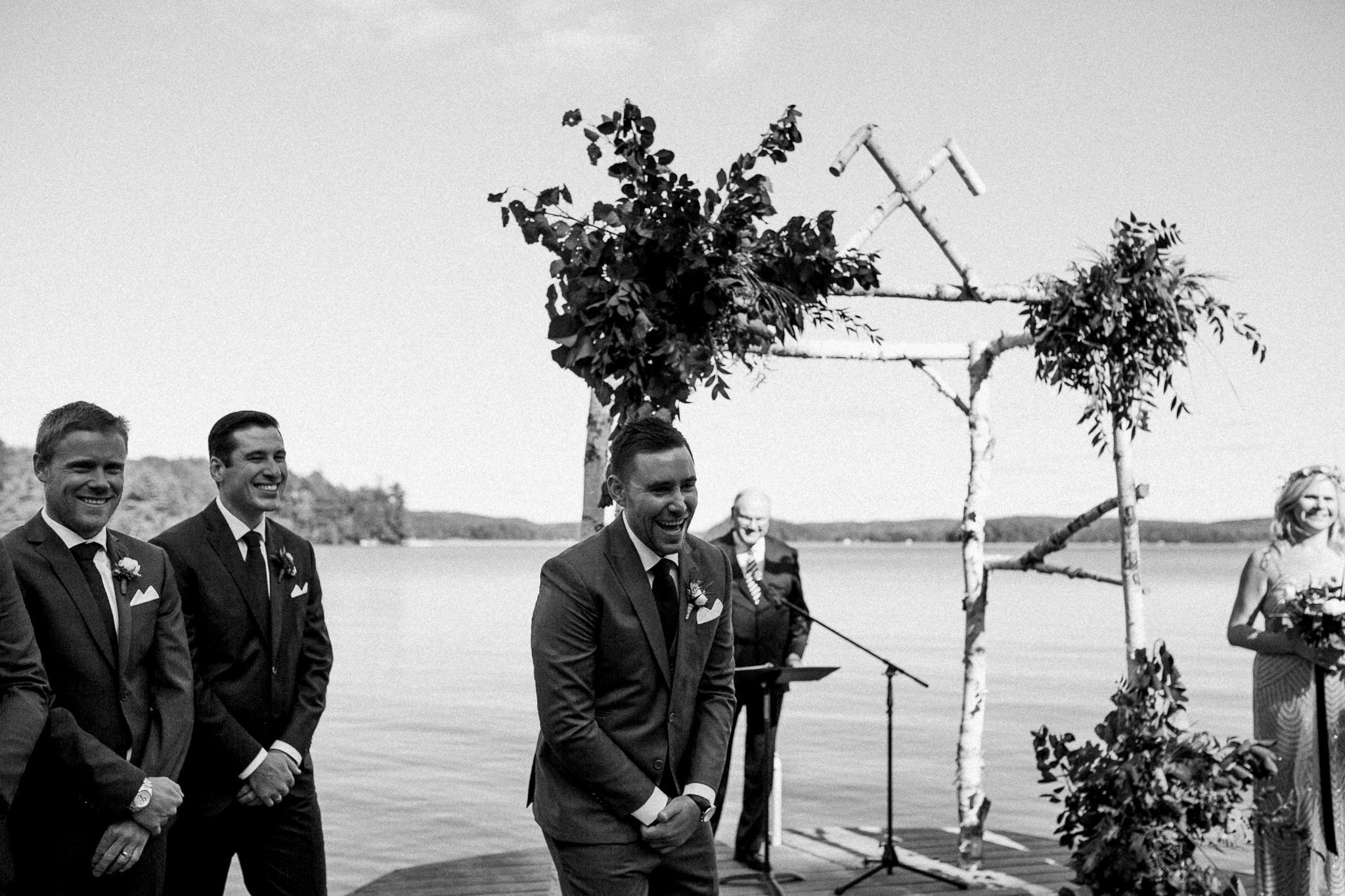 Muskoka lakeside wedding at Port Cunnington Lodge by Max Wong Photo (46)
