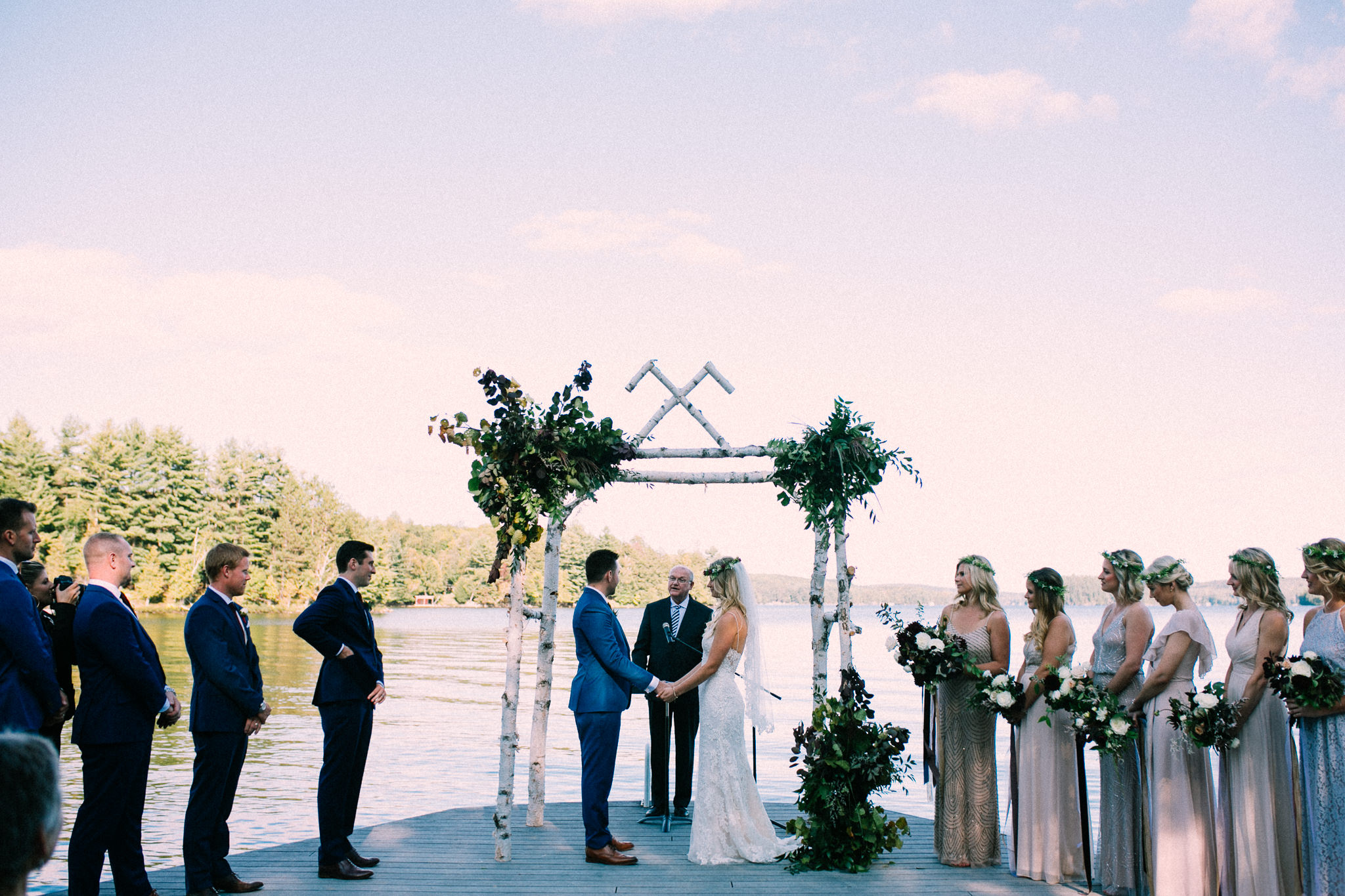 Muskoka lakeside wedding at Port Cunnington Lodge by Max Wong Photo (47)