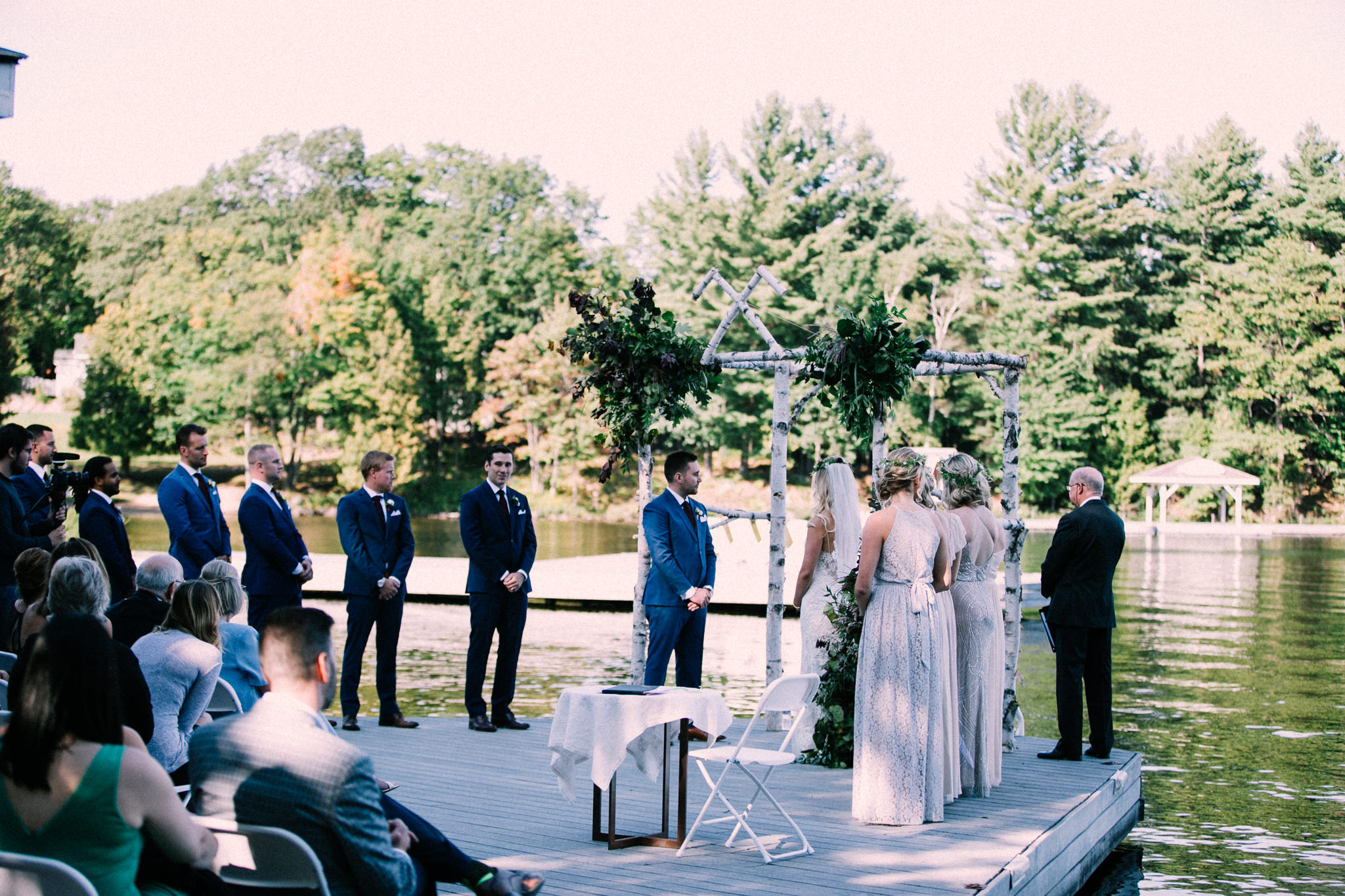 Muskoka lakeside wedding at Port Cunnington Lodge by Max Wong Photo (48)