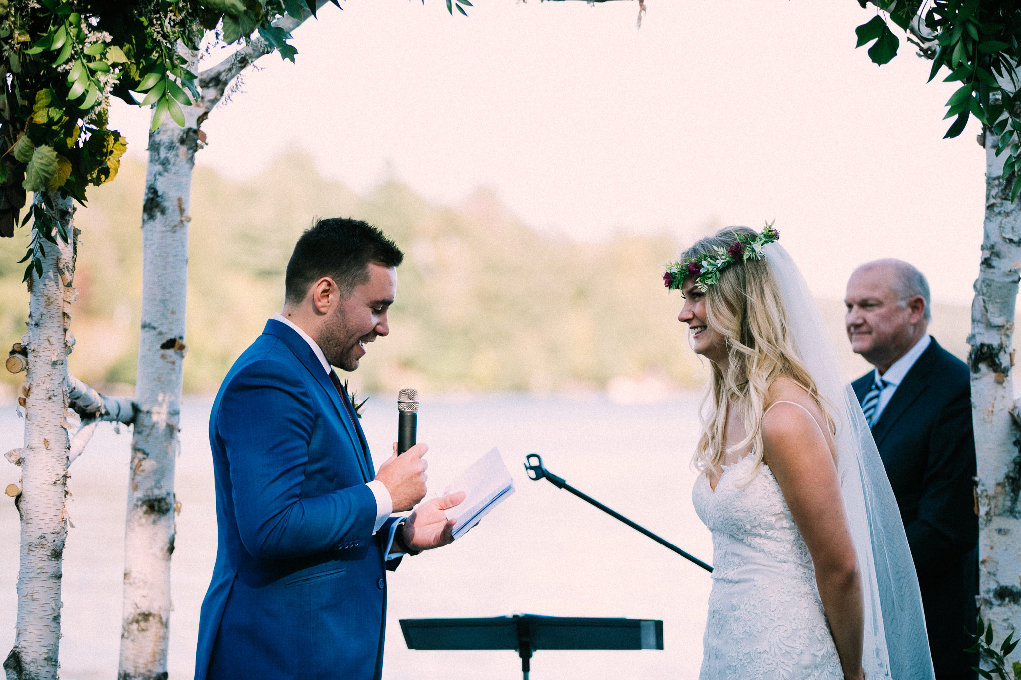 Muskoka lakeside wedding at Port Cunnington Lodge by Max Wong Photo (49)