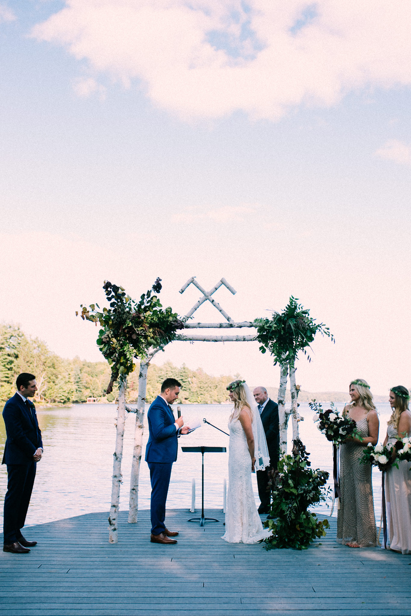 Muskoka lakeside wedding at Port Cunnington Lodge by Max Wong Photo (50)
