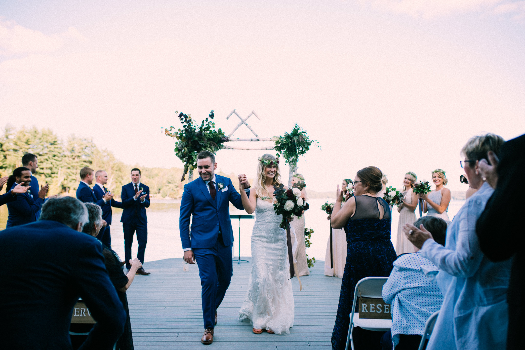 Muskoka lakeside wedding at Port Cunnington Lodge by Max Wong Photo (51)