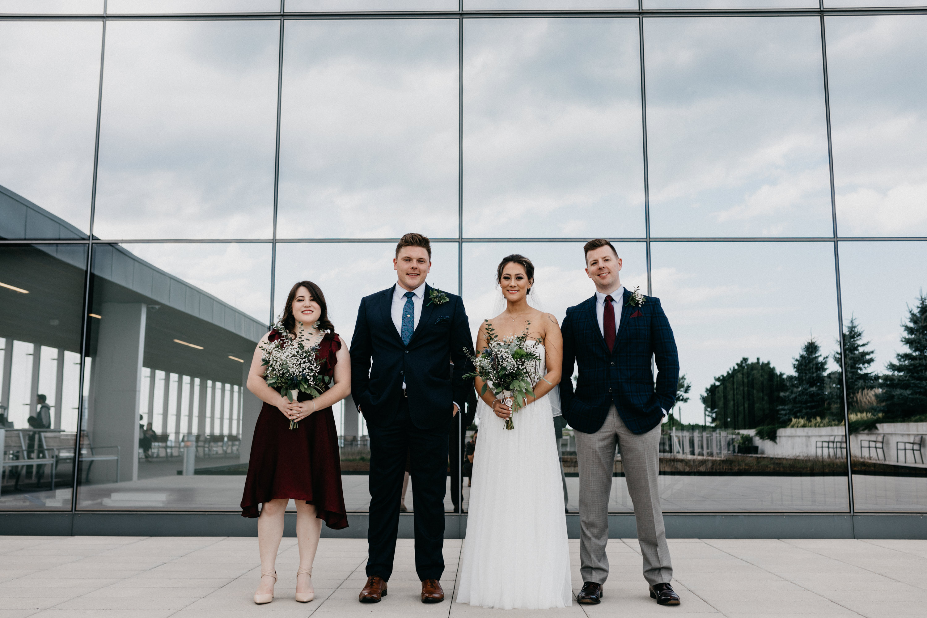bridal party at bridgepoint hospital